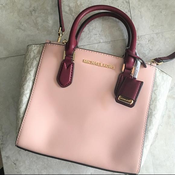 Michael Kors Carolyn Small Satchel Crossbody Bag NWT